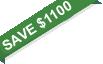 save $1100