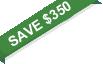 save $350