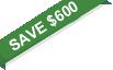 save $600