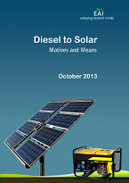Diesel to Solar - Motives and Means