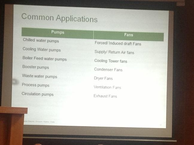 Small VFD Applications EnEff