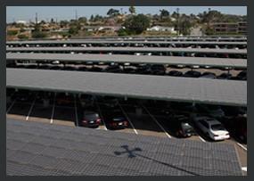East LA College Solar on Carport