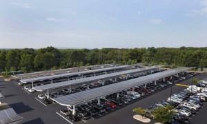 Rutgers Univ Livingston Campus Solar