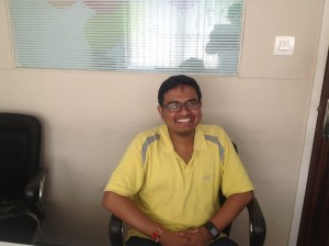 EAI met with Sombodhi Ghosh of Aakar Innovation in Delhi